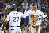 """D.Neverauskas vėl grįžo į MLB, bet """"Pirates"""" pralaimėjo Los Andžele"""