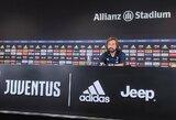 """A.Pirlo nežada C.Ronaldo vietos startinėje sudėtyje: """"Treniruotės namie ne tas pats, kas su komanda"""""""
