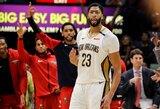 """Pirmasis šaukimas nuomonės nepakeitė: A.Davisas toliau nori palikti """"Pelicans"""""""