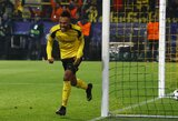 """P.E.Aubameyango """"hat-trickas"""" palaidojo """"Benfica"""" turėtas viltis"""