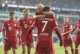 """Gražūs įvarčiai padovanojo """"Bayern"""" klubui pergalę, """"Hoffenheim"""" tik dabar patyrė pirmą sezono nesėkmę"""