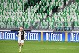 """Paaiškėjo tiksli data, kada planuojama sugrąžinti """"Serie A"""" rungtynes"""