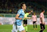 """M.Klose karjera """"Lazio"""" klube pasiekė finišo tiesiąją"""