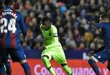 """Ne stipriausia sudėtimi žaidusi """"Barcelona"""" Karaliaus taurės aštuntfinalio pirmose rungtynėse neatsilaikė prieš """"Levante"""""""