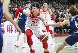Kinai palaužė Pietų Korėją ir priartėjo prie Tokijo olimpiados