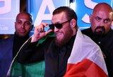 UFC reitingas: C.McGregoras lengvame svoryje aplenkė J.Gaethje, pusvidutiniame įsiveržė į penkioliktuką