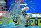 D.Rapšys triumfavo įtemptoje kovoje dėl pasaulio taurės varžybų aukso!