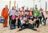 Klaipėdoje paaiškėjo Lietuvos paplūdimio tinklinio studentų čempionai