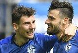 """Vokietijos """"Bundesliga"""": minimali """"Schalke 04"""" pergalė ir nuostabus D.Caligiuri įvartis"""