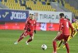 Lietuvos futbolo rinktinės sudėtyje – vienas pasikeitimas
