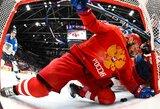 Rusijos ledo ritulio fanai reikalauja į rinktinę pakviesti V.Putiną, suomių gynėjas apkaltino A.Ovečkiną