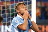 """Italijoje – triuškinanti """"Lazio"""" pergalė ir svarbūs """"Inter"""" taškai"""