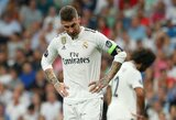"""""""Real"""" kapitonas S.Ramosas užstojo trenerį: """"Atleisti J.Lopetegui būtų beprotiška"""""""