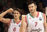 """D.Lavrinovičius buvo """"minusinis"""", tačiau jo ir R.Kaukėno komanda laimėjo"""