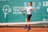 Perspektyviausiems Lietuvos tenisininkams bus lengviau derinti sportą ir mokslus