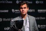 M.Carlseno varžovas nepaaiškėjo: turnyras Rusijoje sustabdytas pačiame įkarštyje