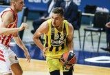 """""""Fenerbahče"""" Turkijoje per kėlinį įmetė beveik 40 taškų"""