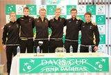 Daviso taurė: šeštadienį pirmas į kortą žengs L.Grigelis