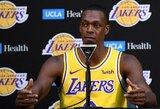 """R.Rondo laikinai bus pagrindinis """"Lakers"""" įžaidėjas"""