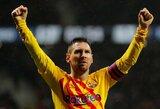 """L.Messi 86-ąją minutę pelnytas įvartis padovanojo """"Barcelonai"""" pergalę prieš """"Atletico"""""""