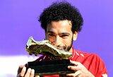 """J.Kloppas: """"M.Salah sužaidė fantastišką sezoną, tačiau C.Ronaldo tai jau 15 toks sezonas"""""""