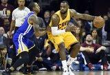 """NBA lažybos: """"Cavs"""" žengs ir trečią žingsnį?"""