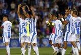 "Ispanijos ""La Ligos"" autsaiderių dvikovoje pergale džiaugėsi ""Leganes"""