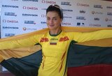 Lietuvos rekordą pagerinusi trišuolininkė D.Dzindzaletaitė – Europos jaunimo čempionė!