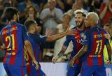 """""""Barcelona"""" septyniais įvarčiais pažemino """"Celtic"""", """"Bayern"""" sutriuškino debiutantus"""