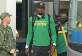 Pribloškiantį greitį olimpiadoje žadantis U.Boltas tęsia žodžių karą su J.Gatlinu
