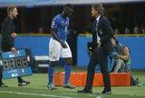 Puikus atsakas kritikams: M.Balotelli pasijuokė iš pranešimų dėl viršsvorio