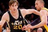 """Vakarų konferencijos autsaiderių dvikovoje – """"Lakers"""" nesėkmė"""