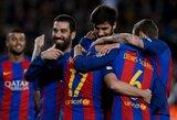 """""""Barcelona"""" ir """"Sevilla"""" sutrypė varžovus Karaliaus taurėje"""
