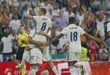 """""""Real"""" klubas iškovojo sunkią pergalę ir pakilo į pirmą vietą"""