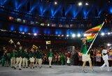 """Zimbabvės prezidentas įniršo ant savo olimpiečių: """"Suimkite šias žiurkes"""""""
