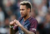 """Neymaras prisijungs prie PSG Prancūzijos """"Supertaurės"""" rungtynėms prieš """"Monaco"""""""