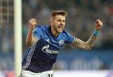 """Schalke"" klubo austrai surengė įspūdingą pasirodymą Lėverkuzene"