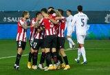 """Netikėta: """"Athletic"""" Ispanijos Supertaurės pusfinalyje iš tolimesnių kovų eliminavo """"Real"""""""