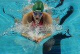 R.Meilutytei pasaulio čempionate Barselonoje prognozuojami du aukso medaliai