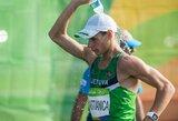 A.Mastianica iškovojo pergalę sportinio ėjimo varžybose Slovakijoje