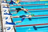A.Šeleikaitė iškovojo pirmąjį medalį Šiaurės Europos šalių plaukimo čempionate