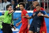 Pamatykite: K.Mbappe elgesys rungtynių pabaigoje suerzino futbolo gerbėjus