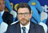 """""""Roma"""" treneriu turėtų tapti buvęs klubo saugas, L.Spalletti treniruos """"Inter"""""""