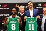 """""""Celtics"""" pristatytas E.Kanteris pašiepė K.Irvingo frazę"""