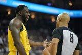NBA arenose – neįprastas reiškinys tarp žaidėjų ir teisėjų