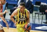 """E.Ulanovas svariai prisidėjo prie """"Fenerbahče"""" iškovotos pergalės Stambulo derbyje"""