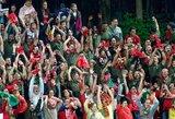Pamatykite: Portugalijos rinktinės sirgaliai LFF stadione