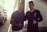 """""""Žalgirio"""" vartininkas apie """"Juventus"""" norą jį įsigyti sužinojo prie Kalėdų stalo"""