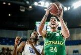 Australija pasikvietė NBA patirties turinti žaidėją