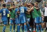 """Sėkmingas čempionų startas Italijoje: G.Chiellini įvartis padovanojo """"Juventus"""" pergalę"""